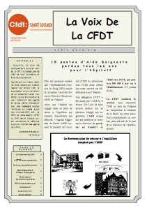 Journal non adhérent n°2 avril 2013