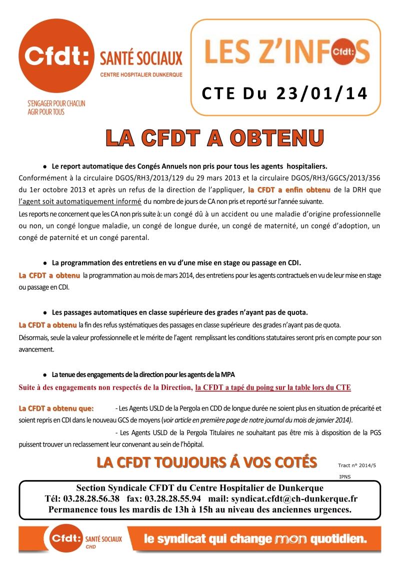 2014-05 CTE du 23.01.2014