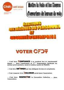 Elections Privées Tract n°1 p1