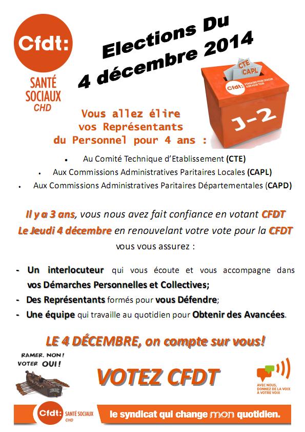 appel au vote du 4 décembre 2014
