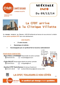 Tract n°1 Création section