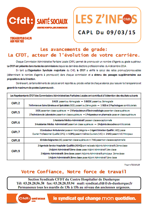 2015-05 CAPL du 9 mars 2015