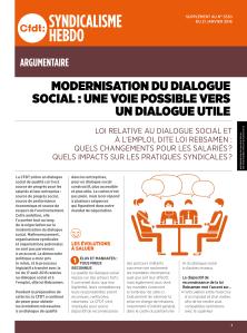 Modernisation du dialogue social