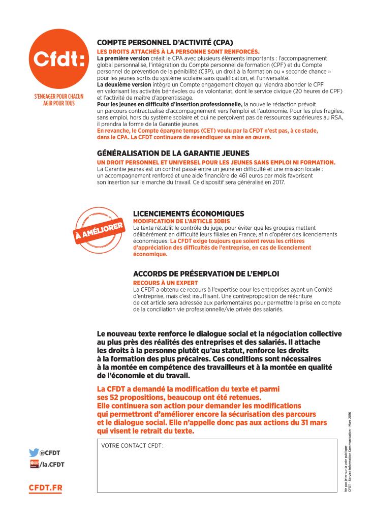 2016-03-31 Projet de loi travail, La CFDT s'oppose, propose et impose_002